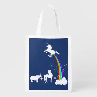 Sac Réutilisable Origine de licorne
