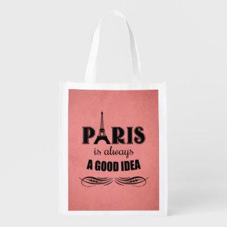 Sac Réutilisable Paris est toujours une bonne idée