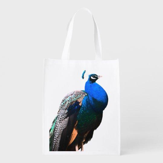 Sac Réutilisable peacock bird