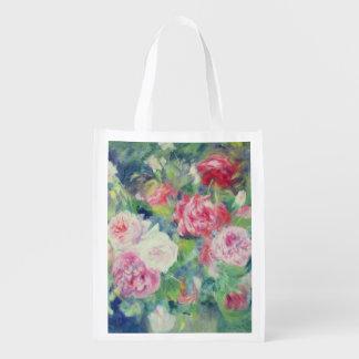 Sac Réutilisable Pierre roses 2 de Renoir un |