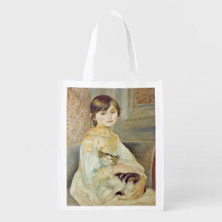 Sac Réutilisable Pierre un Renoir | Julie Manet avec le chat
