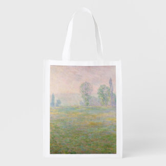 Sac Réutilisable Prés de Claude Monet | en Giverny, 1888
