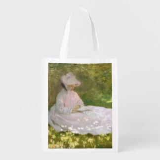Sac Réutilisable Printemps par Claude Monet