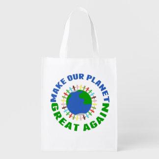 Sac Réutilisable Rendez notre planète grande encore