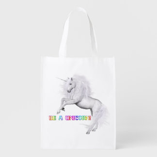 Sac Réutilisable Soyez une licorne