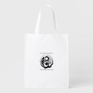 Sac Réutilisable Tote Bag avec logo auteure Virginia B. Robilliard