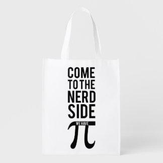 Sac Réutilisable Venez au côté nerd