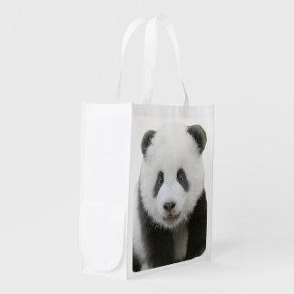 Sac Réutilisable Visage de panda