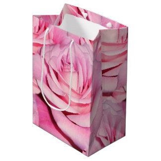 Sac rose de cadeau, sac rose de cadeau, sac de