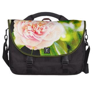Sac rose d'ordinateur portable de banlieusard de sacoches pour ordinateur portable