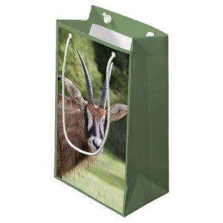 Sac rouan de cadeau d'antilope