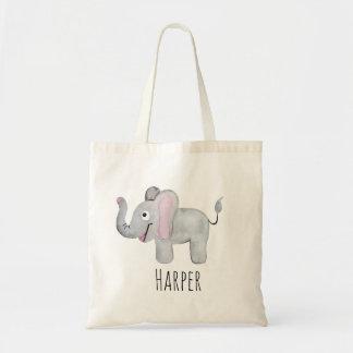 Sac Safari unisexe et nom d'éléphant de bébé