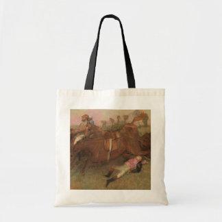 Sac Scène d'Edgar Degas | de la course d'obstacles