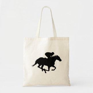 Sac Silhouette de cheval de course
