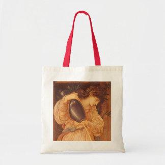 Sac Temperantia par Burne Jones, art victorien vintage