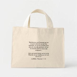 Sac / Tote Bag - verset Biblique/Bible Verse
