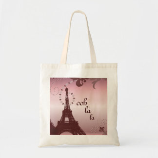 Sac Tour Eiffel français chic girly de Paris de pays