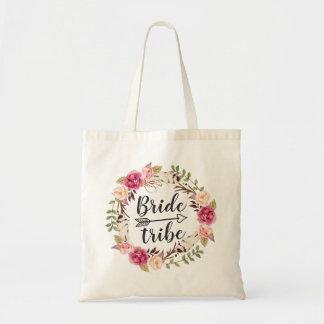 Sac Tribu florale de jeune mariée de guirlande de Boho