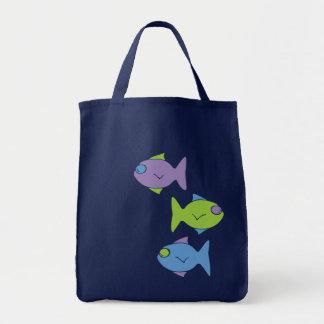 Sac Trois petits poissons