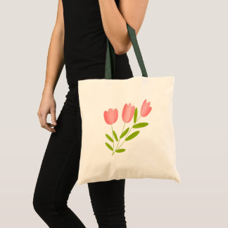 Sac tulipes rose