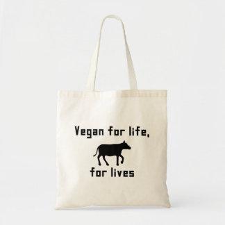 Sac Végétalien pendant la vie