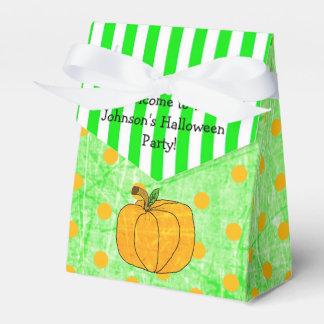 Sac vert personnalisé de faveur de Halloween de Ballotins