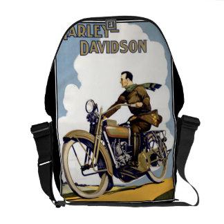 Sac vintage de Rickshaw de sac messenger à motocyc Besace