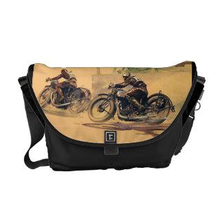 Sac vintage de Rickshaw de sac messenger à motocyc Sacoche