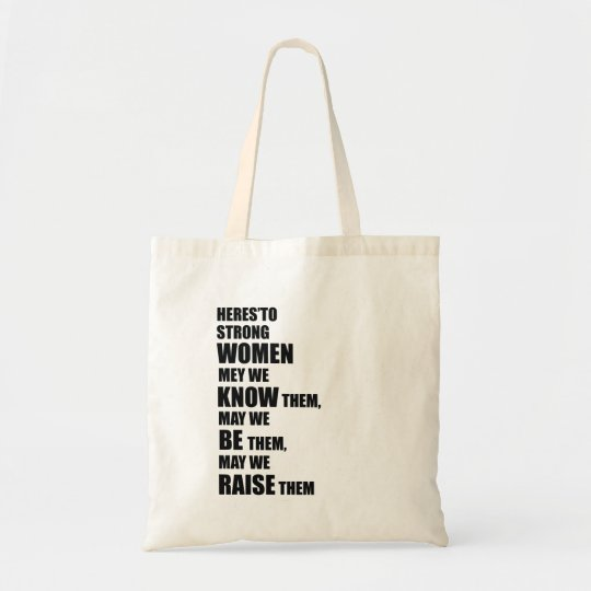 En commun Sac Voici aux femmes fortes/à citation féministe | Zazzle.fr #IF_67