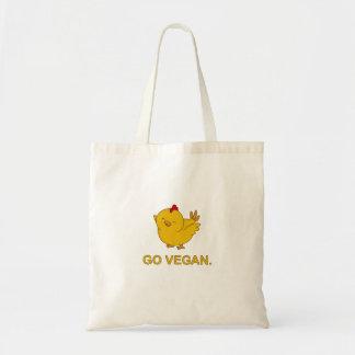 Sac Vont le végétalien - poussin mignon