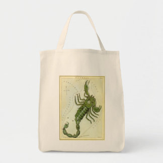 Sac Zodiaque vintage, constellation de Scorpion