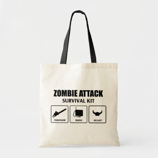 Sac Zombie Attack Survival Bag
