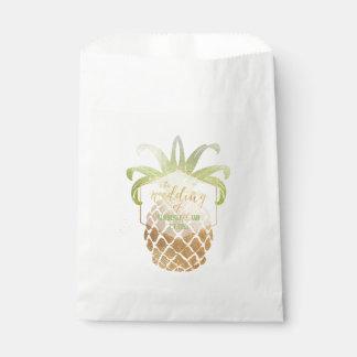 Sachets En Papier Ananas hawaïen royal de PixDezines