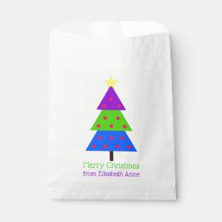 Sachets En Papier Ayez l'amusement que cet arbre de Noël a