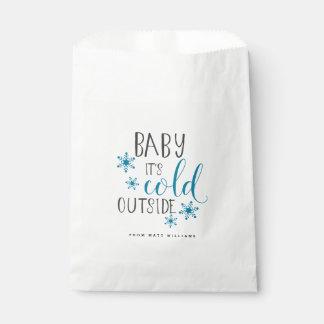 Sachets En Papier Bébé c'est Noël extérieur froid