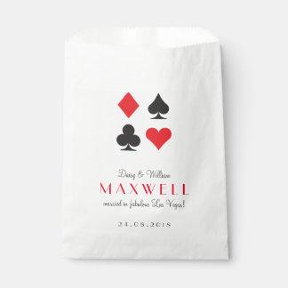 Sachets En Papier Destin Las Vegas épousant le sac customisé de