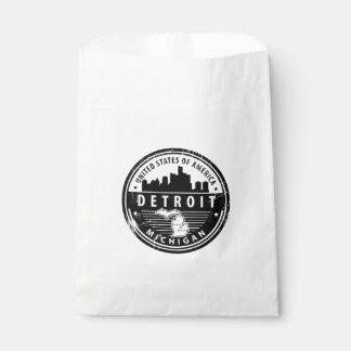Sachets En Papier Detroit, Michigan