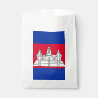 Sachets En Papier Drapeau du Cambodge