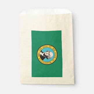 Sachets En Papier Favorisez le sac avec le drapeau de l'état de