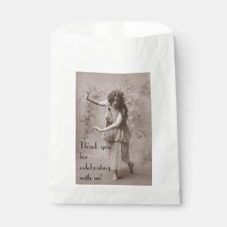 Sachets En Papier Femme de Bohème vintage