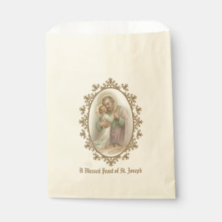 Sachets En Papier Jour de fête de Jésus d'enfant de St Joseph toute