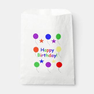 Sachets En Papier Joyeux anniversaire ! Sac de faveur