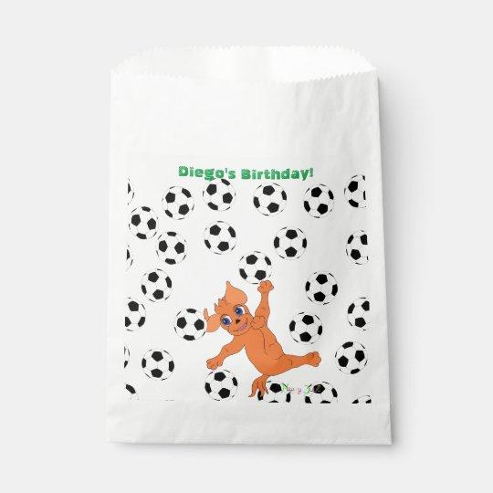 Sachets En Papier Le football par Happy Juul Company