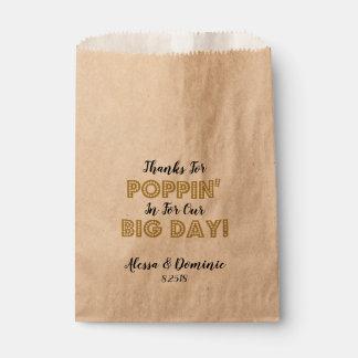 Sachets En Papier Merci pour Poppin dedans pour notre grand or de