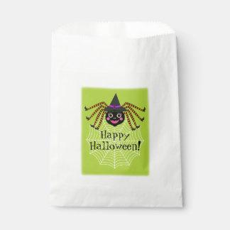 Sachets En Papier Partie de Halloween de sorcière d'araignée