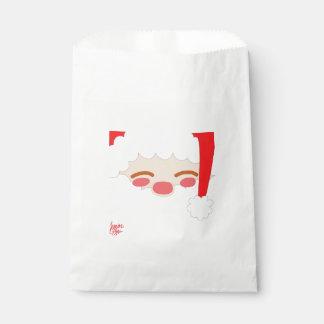 Sachets En Papier Père Noël 1