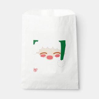 Sachets En Papier Père Noël 2