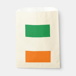 Sachets En Papier Sac de faveur avec le drapeau de l'Irlande