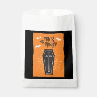 Sachets En Papier Sac de faveur de cercueil de Halloween