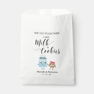 Sachets En Papier Sac de faveur de mariage - nous allons ensemble